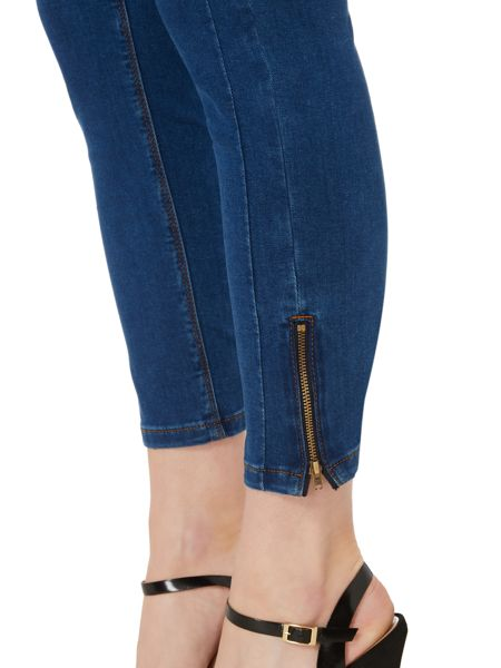 Therapy Sarah cropped zip skinny jean