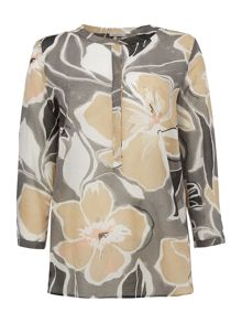 Marella Trudy floral long sleeve blouse