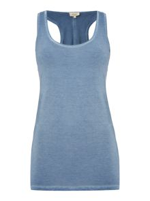 Linea Weekend Shimmer overdyed vest