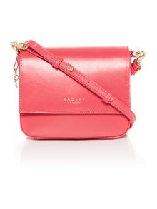 Radley Floral street pink small flap over multiway bag