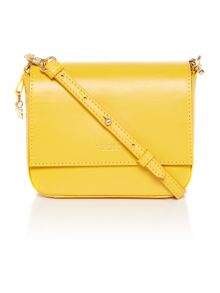 Radley Floral street yellow small flap over multiway bag