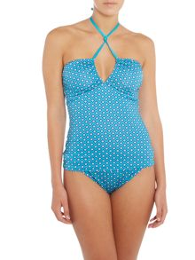 Dickins & Jones Tile Print Tankini