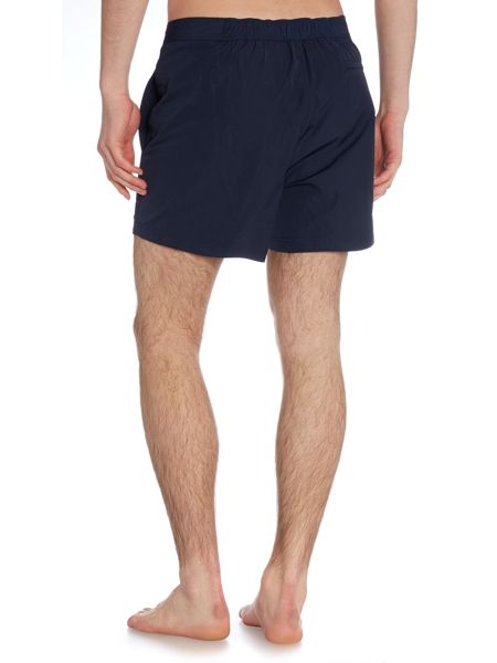 Michael Kors Contrast piping logo swim shorts