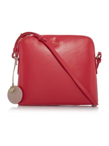 Radley Millbank pink small ziptop cross body bag