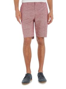 Michael Kors Regular fit fan dot print chino shorts