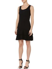 Michael Kors Sleeveless Lace Back Scoop Neck Dress