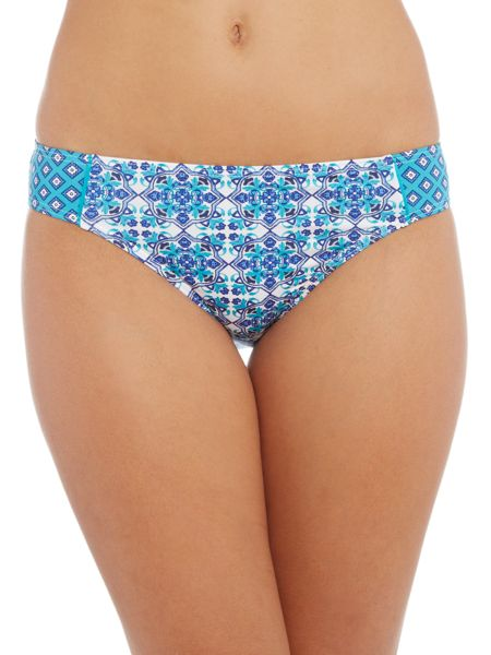 Dickins & Jones Tile Print Trim Brief