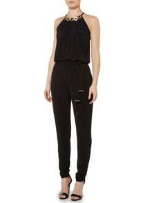 Michael Kors Embellished Halter Neck Jumpsuit