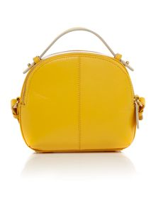 Radley Bow street yellow medium bowler multiway bag