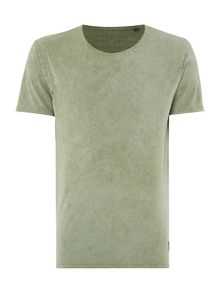 Only & Sons Oil Wash Short Sleeve T-shirt