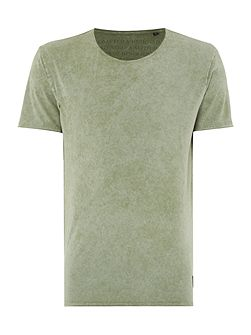 Oil Wash Short Sleeve T-shirt