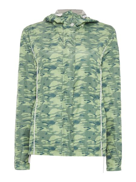 Replay Jacket with camouflage print