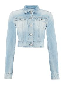 Replay short  denim jacket.