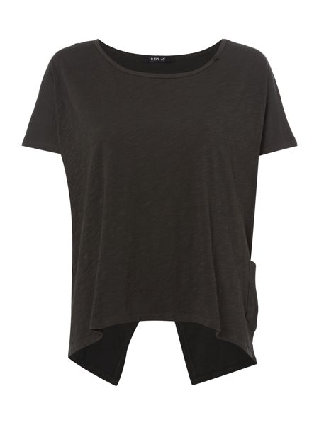 Replay round neckline t-shirt