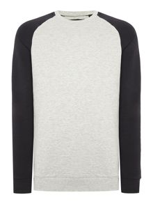 Only & Sons Raglan Crew Neck Sweatshirt
