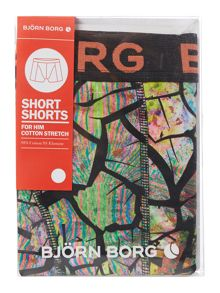 Bjorn Borg Drylands cracked print trunk