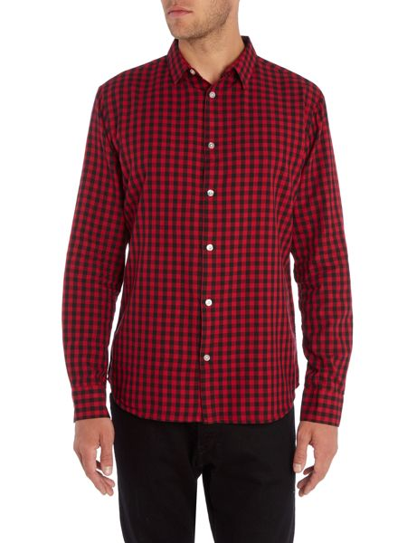Only & Sons Long Sleeve Gingham Shirt