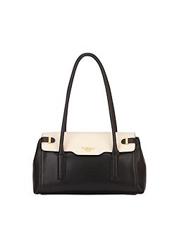 Fiorelli Fletcher multi-coloured flapover tote bag