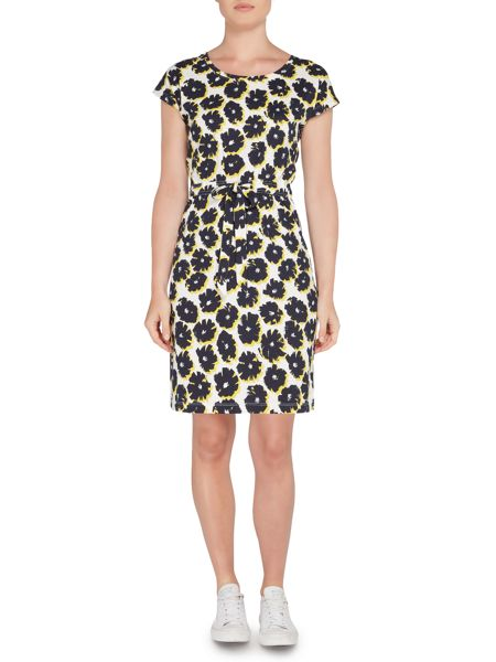 Dickins & Jones Jersey Shift Dress with Tie Detail