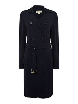 Long Sleeved Trench Dress