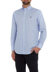 Polo Ralph Lauren Golf Non iron check poplin long sleeve shirt