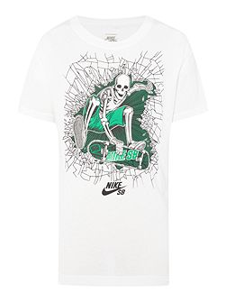 Boys Skating Graphic T-shirt