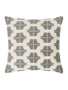 Linea Hand cross stitch cushion
