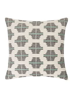 Hand cross stitch cushion