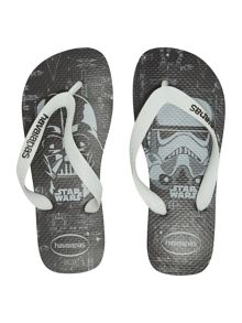 Havaianas Boys Darth Vadar Star Wars print flip flop
