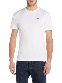 Vivienne Westwood Regular fit crew neck logo t-shirt