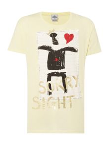 Vivienne Westwood Regular fit crew neck heart skull t-shirt