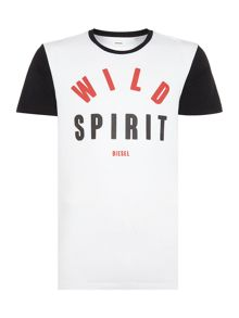Diesel T-Diego regular fit wild spirit retro t-shirt