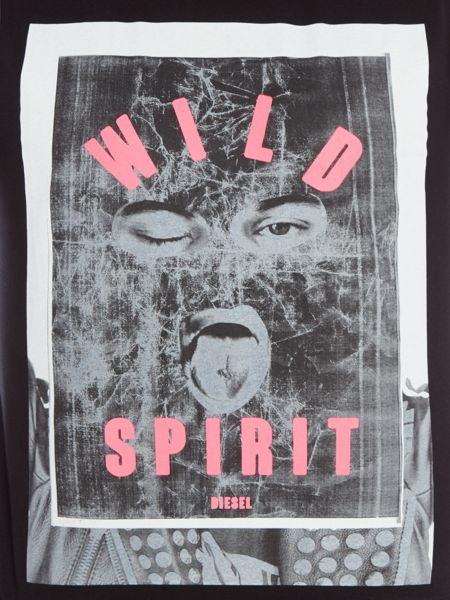 Diesel T-Diego regular fit wild spirit crew neck t shirt