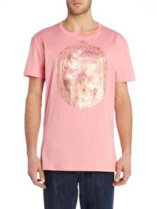 Vivienne Westwood Regular fit crew neck cherub frame t-shirt