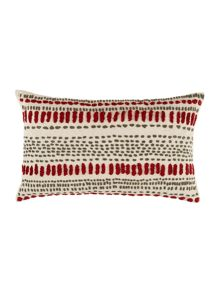 Linea Embroidered spot cushion
