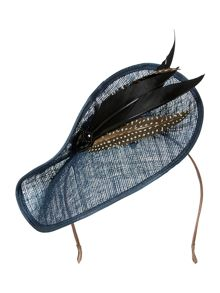 Biba Claudia Jewel Trim Feather Fascinator