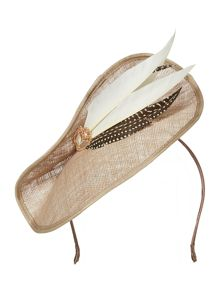 Biba Vivien Sheriff Claudia Jewel Feather Fascinator