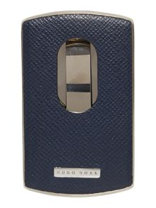 Hugo Boss Signature metal card holder