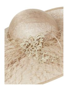 Biba Jerry Lace and Coil Trim Hat