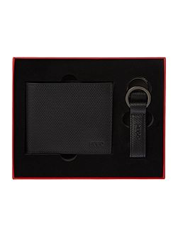 Hugo Boss Hugo coin pocket wallet and keyring