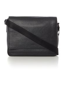 Hugo Boss Hugo dollar messenger bag with flap