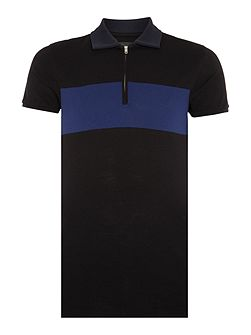 T-Leonardo regular stripe polo
