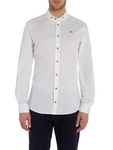 Vivienne Westwood Long sleeve button down poplin shirt
