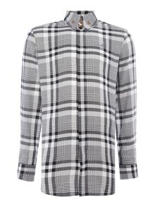 Vivienne Westwood Long sleeve button down tartan shirt