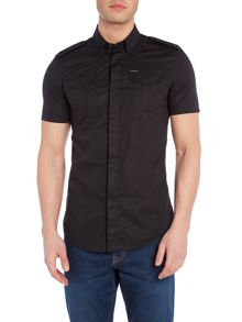 Diesel S-Haul regular fit plain short sleeve short