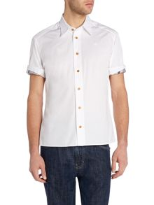 Vivienne Westwood Short sleeve twisted cuff shirt