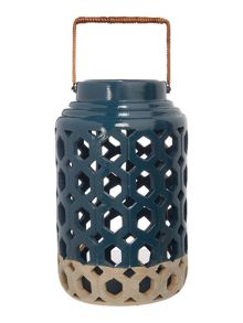 Linea Ceramic lantern large