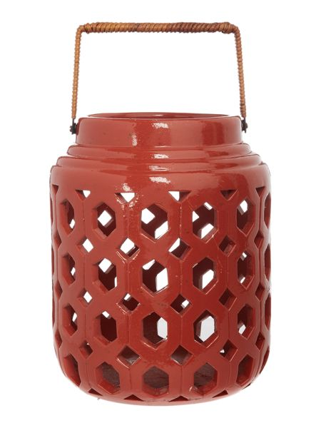 Linea Ceramic lantern small