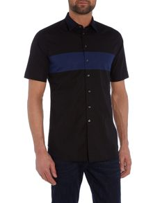 Diesel S-Coast regular fit stripe short sleeve shirt