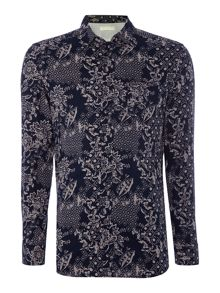 Diesel S-Brandan regular fit paisley print shirt